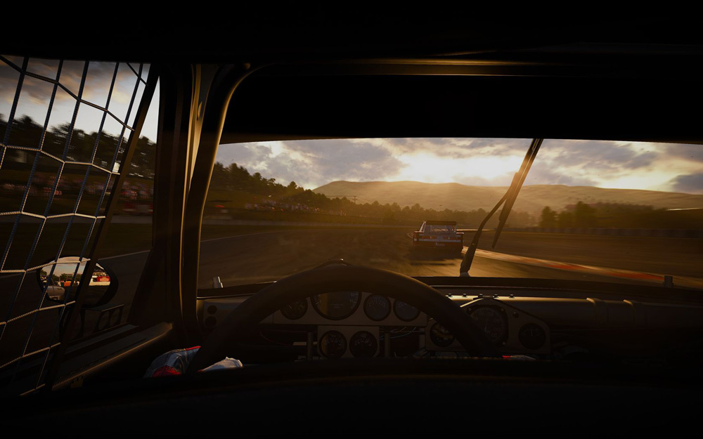 Project CARS är bländade vackert och erbjuder flera perspektiv att spela ur.