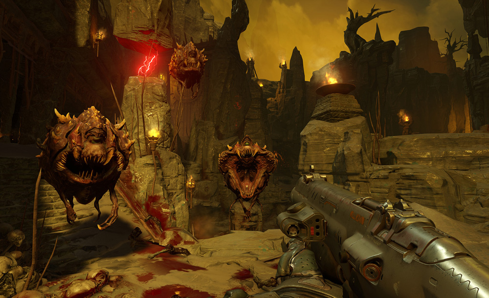 Doom är som bäst när man kommer till helvetet.