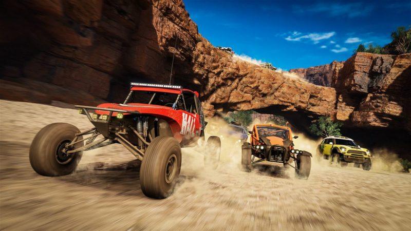 I Forza Horizon 3 får man utforska Australiens vildmark med buggybilar och jeepar.