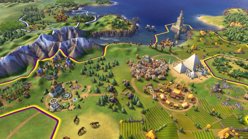 En av de nyheter som det har pratats mest om i Civilization VI är hur städerna numera kan växa och uppta mer än en ruta på spelkartan.
