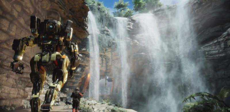 Titanfall + Waterfall.
