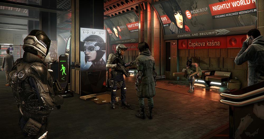 Deus Ex: Mankind Divided berättar om en mörk cyberpunk-framtid.