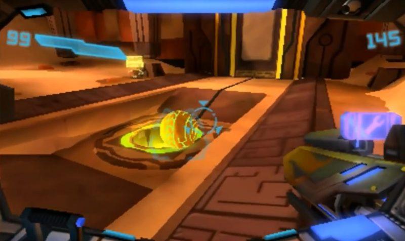Intergalaktisk minigolf på planeten Bion. Skjut på den lilla bollen så att den ramlar ner i hålet för att öppna en stor dörr till ett uråldrigt tempel. Men förvänta dig inte att få rulla ihop dig själv till en boll, sådant klarar inte federationens elitstyrkor. Inte utan Samus Arans klassiska Morph Ball.