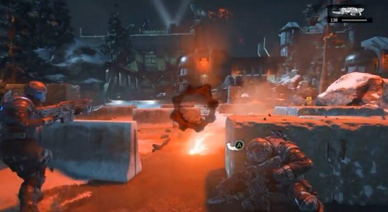 En bild som borde kännas bekant för alla som någon gång har spelat Gears of War.