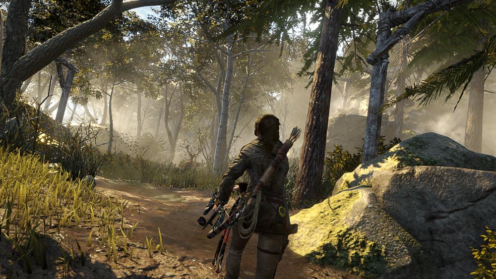 Rise of The Tomb Raider - 20 year celebration stöder 4K på PC och PS4 Pro