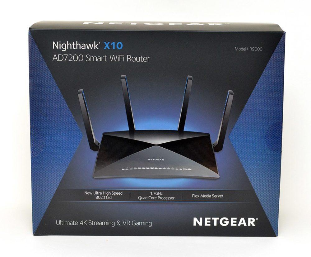 netgear nighthawk x10 förpackning