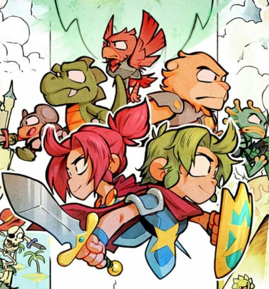 wonder boy iii dragons trap 2017 recension