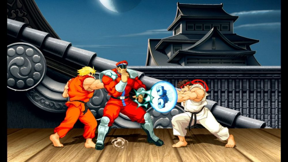 Ultra Street Fighter II buddy mode