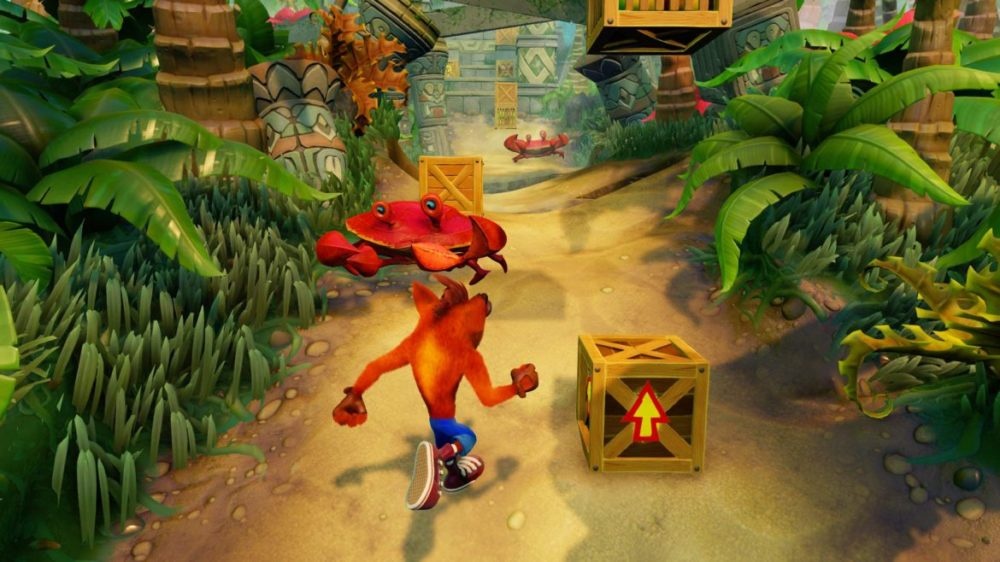 crash bandicoot n sane trilogy recension