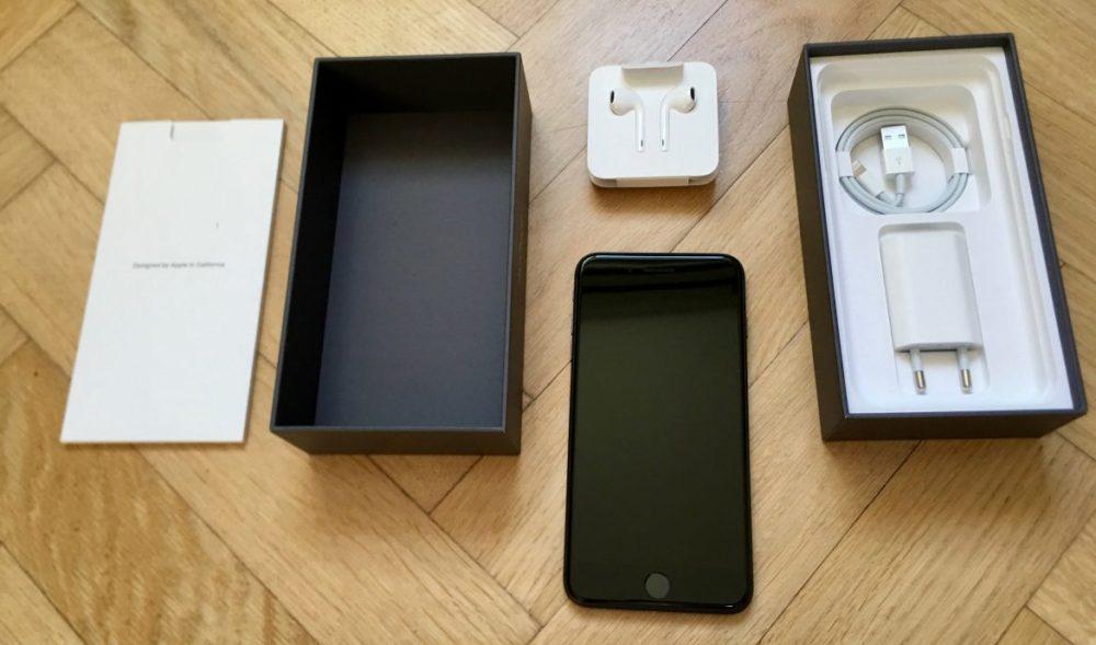 iPhone 8 Plus vad finns i lådan