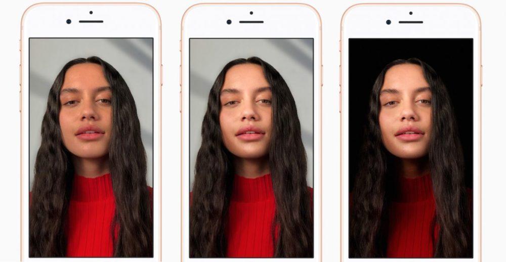 portrait mode iphone 8