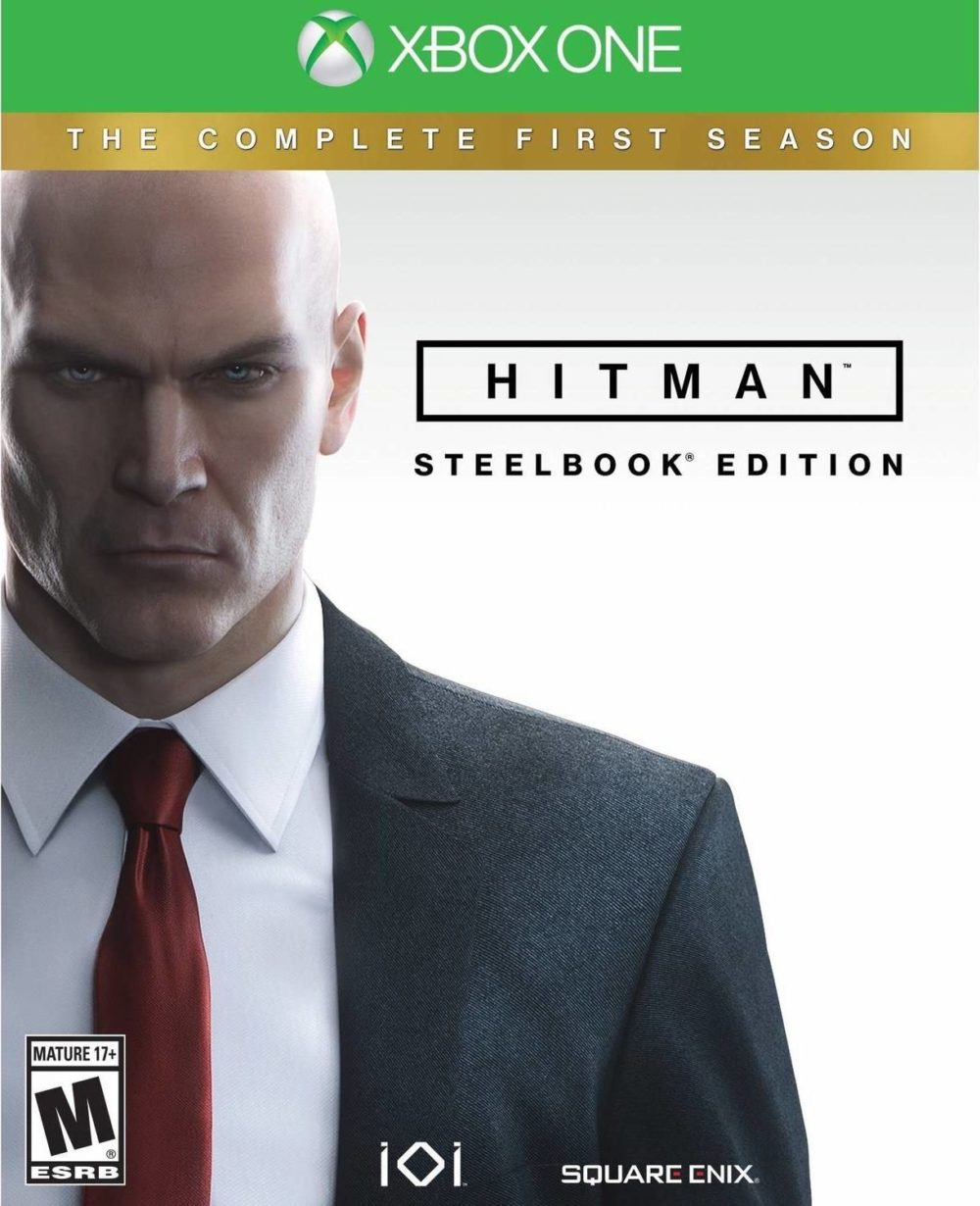 hitman steelbook xbox one