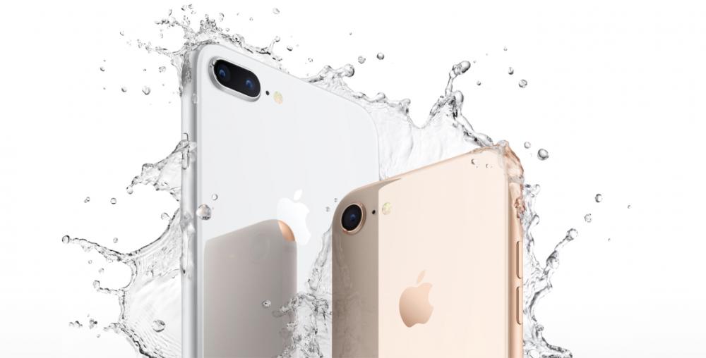iPhone 8 vatten