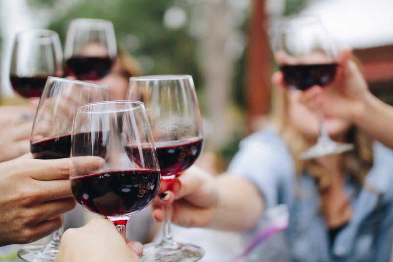 rött vin till kalkon