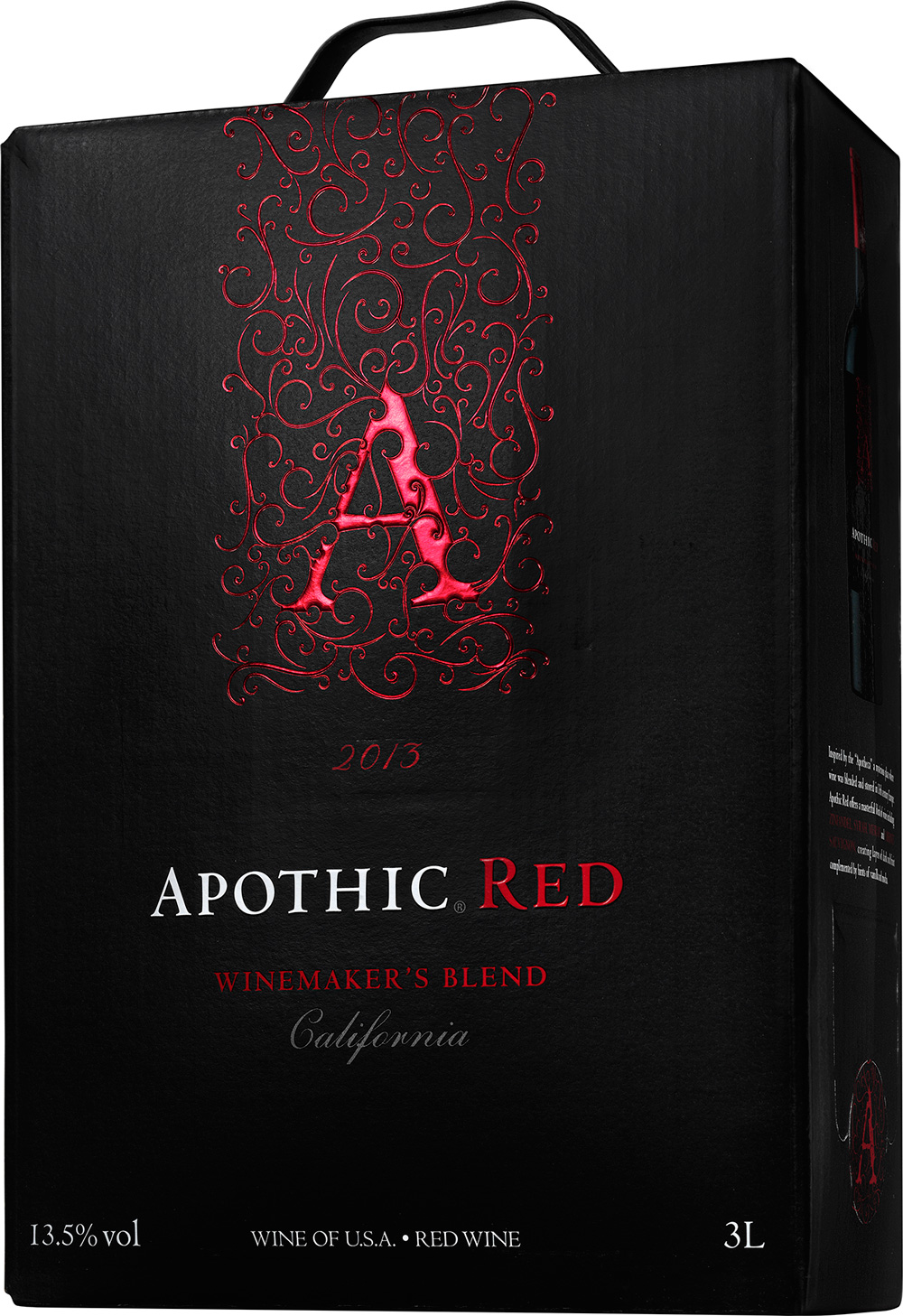 apothic red bag in box