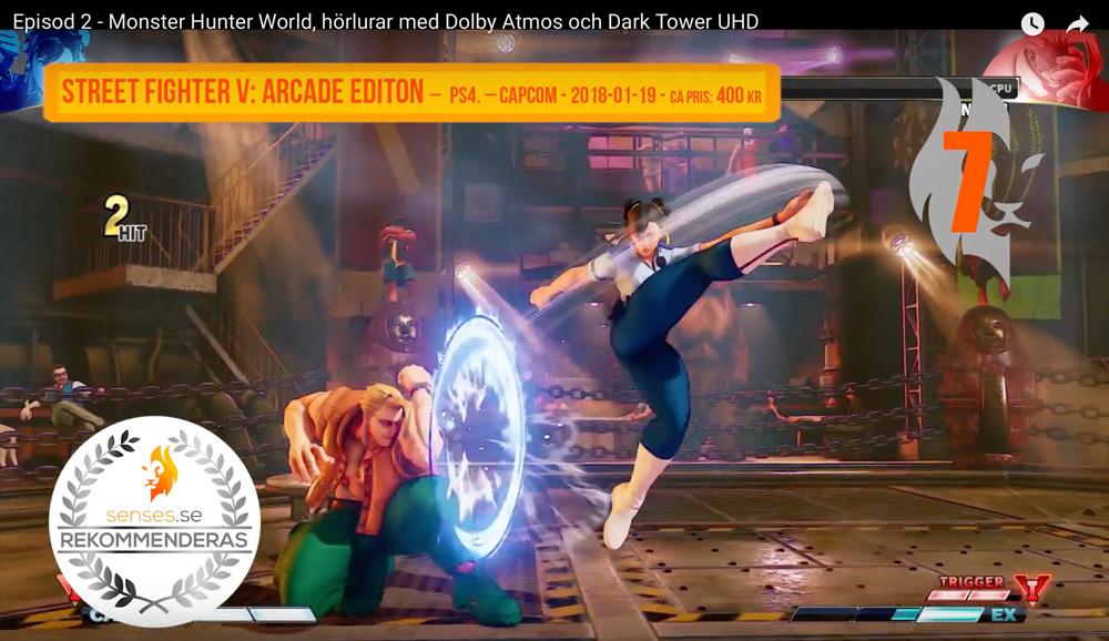 street fighter v arcade senses