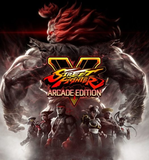 street fighter v recension