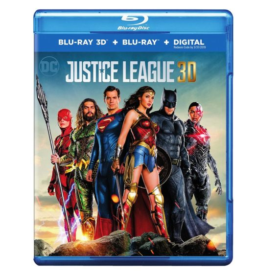 justice league 3d blu ray