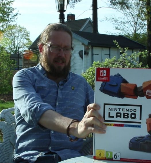 nintendo labo robot kit recension senses