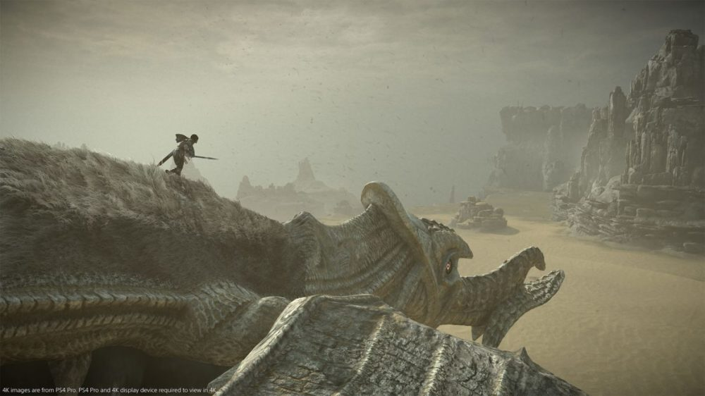 shadow of the colossus ps4 recension