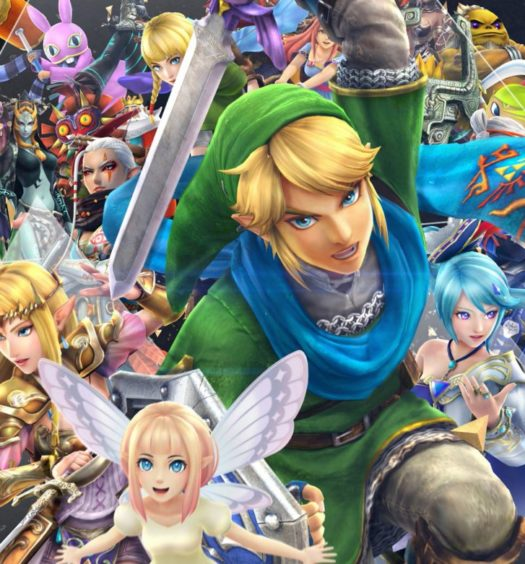 Hyrule Warriors switch recension