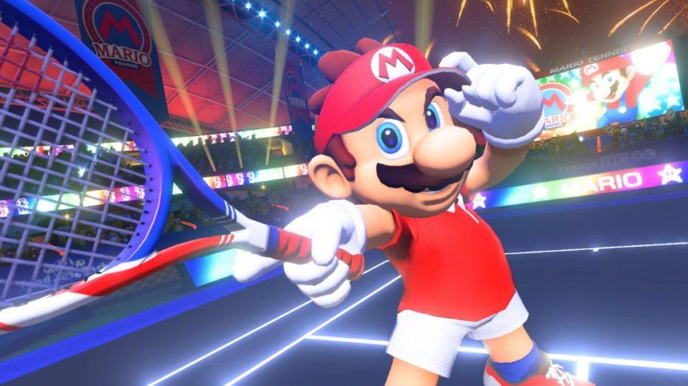 Mario tennis aces recension