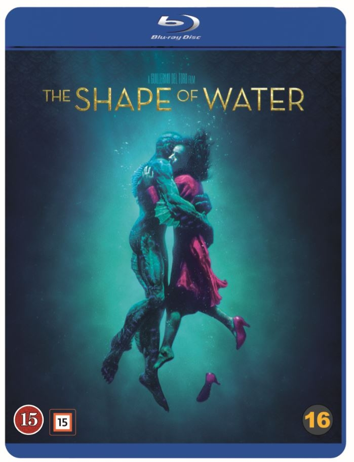 shape of water blu-ray