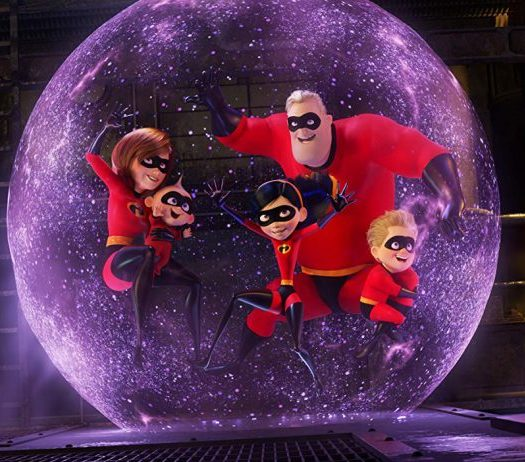 Screenshot from Incredibles 2