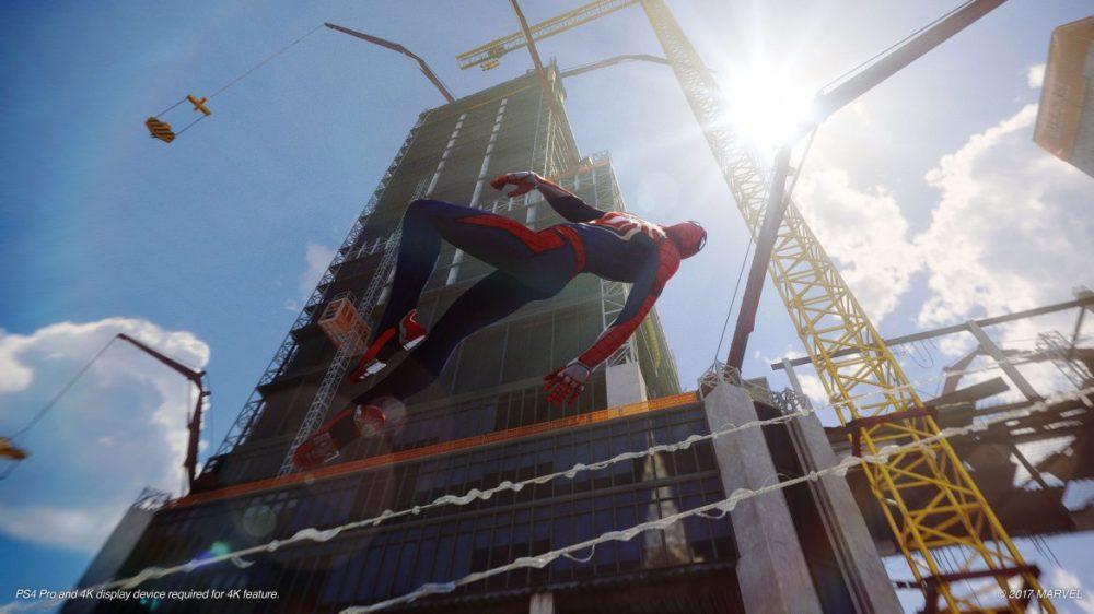 spider-man ps4 recension