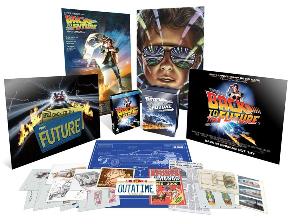 back to the future trilogy limited collectors edition