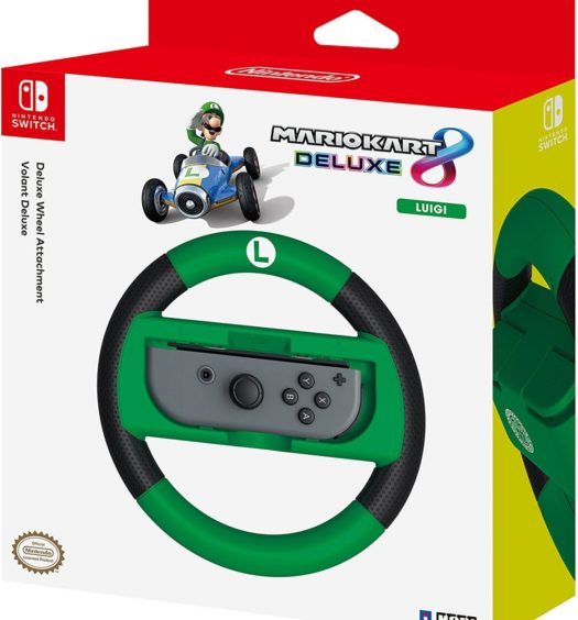 Mario kart 8 racing wheel hori