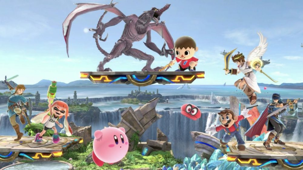 super smash bros ultimate recension