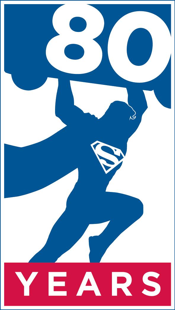 superman 80 år