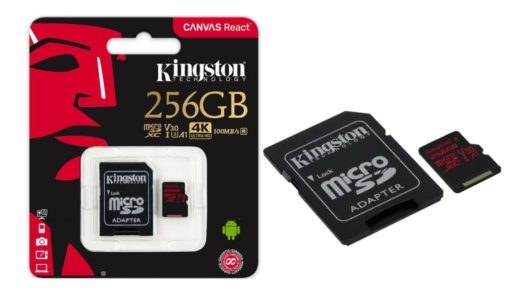 Test: Kingston Canvas React microSDXC 256GB