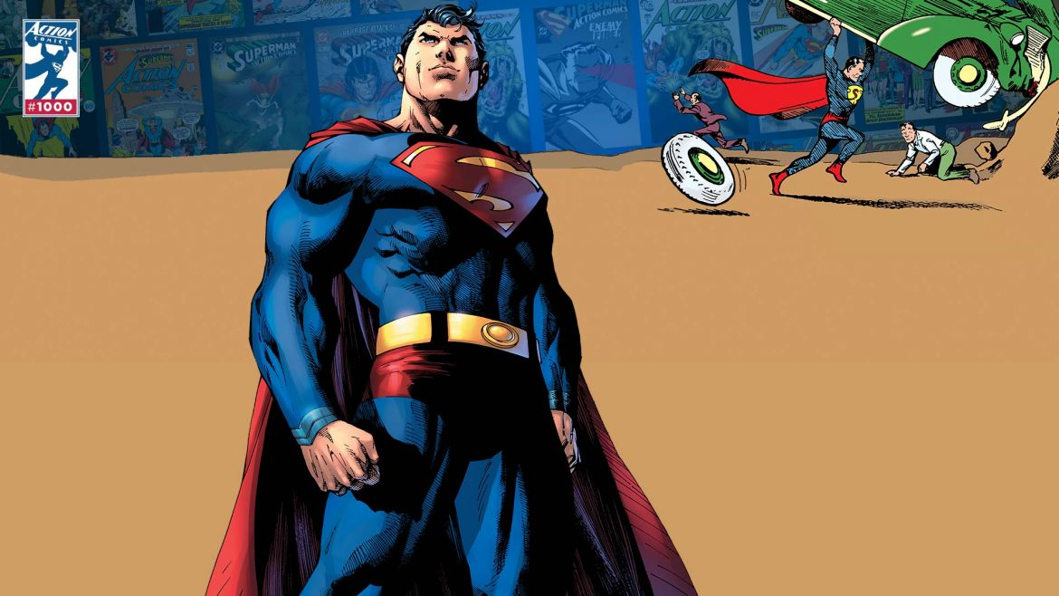 superman 80th anniversary dc comics