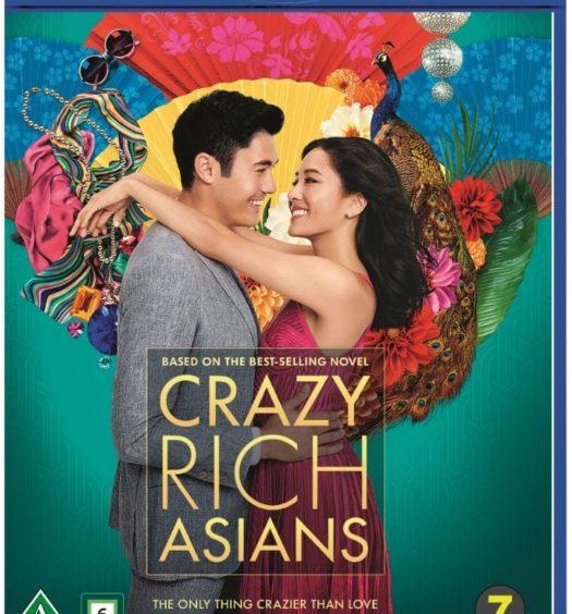 crazy rich asians blu-ray