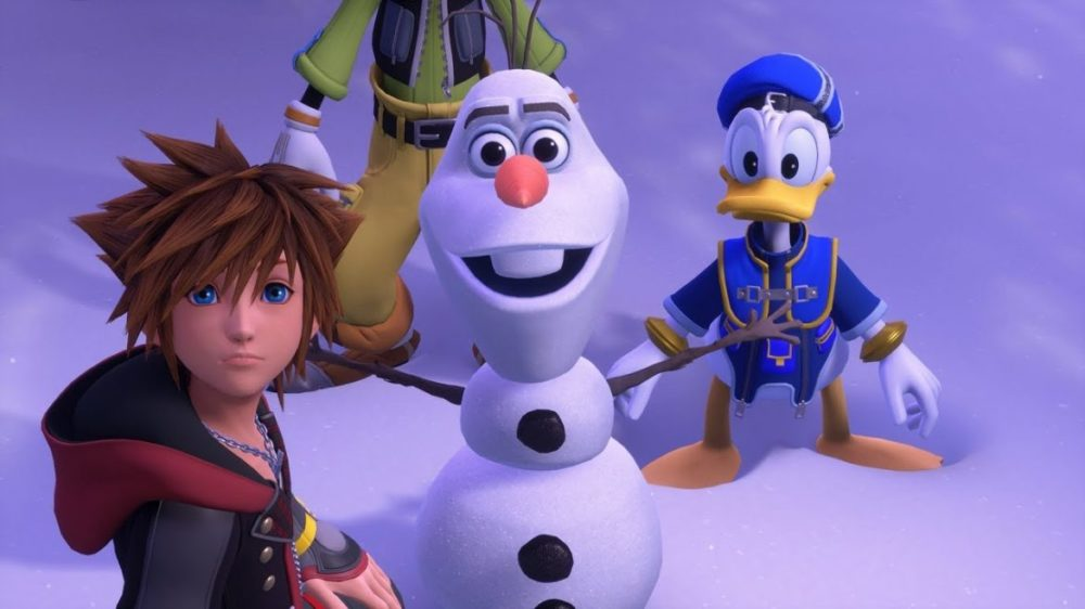 kingdom hearts 3 recension