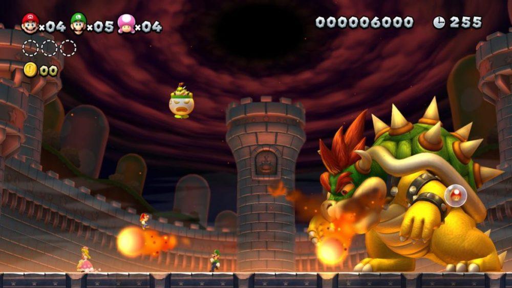 new super Mario Bros u. deluxe recension