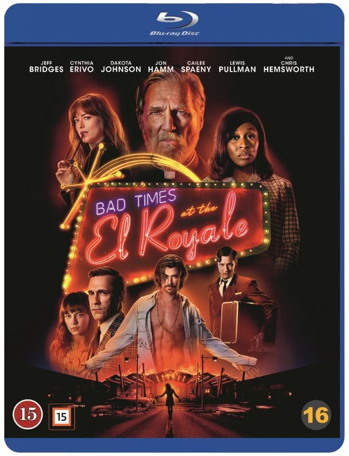 bad times at the el royale blu-ray