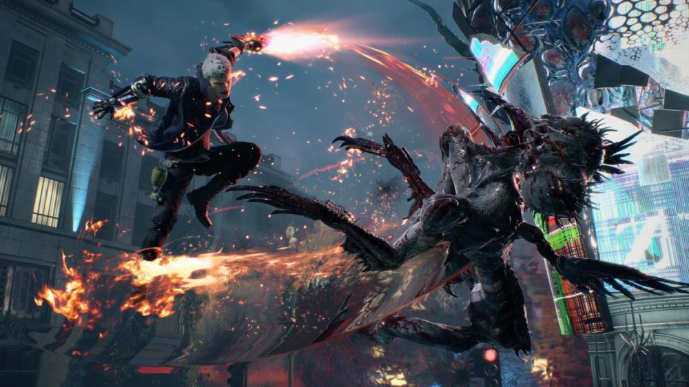 nero devil may cry 5 recension