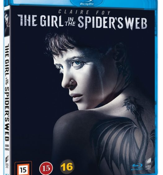 girl in the spider's web blu-ray Sverige