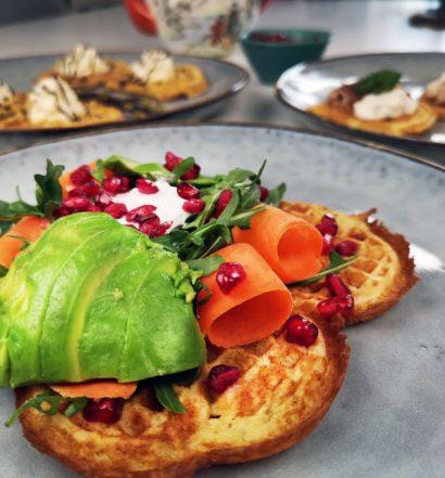 waffle main course våfflor