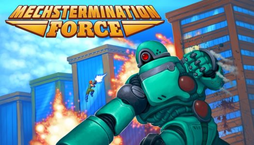 Recension: Mechstermination Force (Switch)
