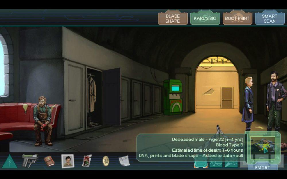 Screenshot: Whispers of a Machine (MAC)