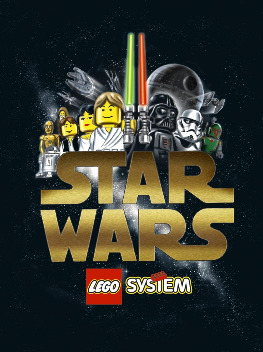 lego Star Wars tävling