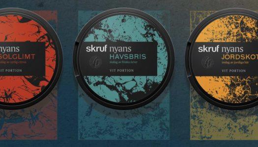 Test: Fem nya smaker från Skruf Snus
