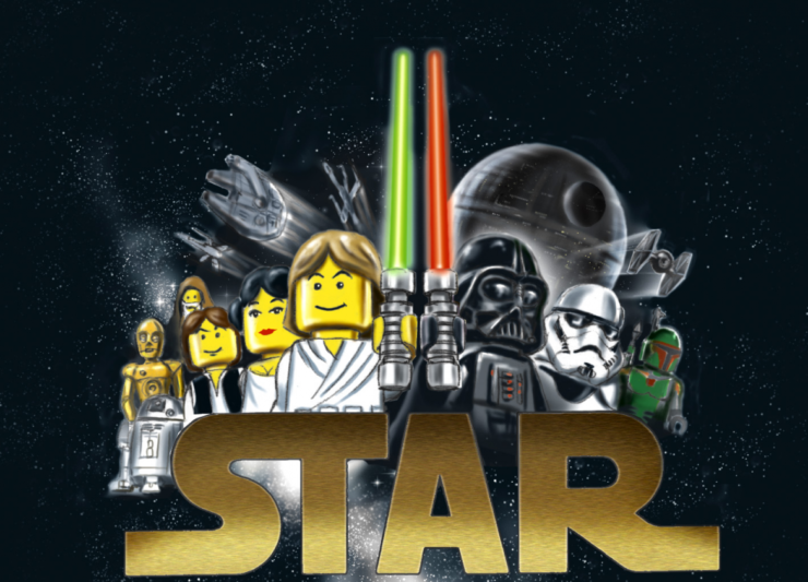 Star Wars lego 20th anniversary tävling