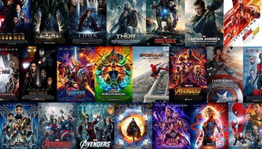 senses betygsätter alla Marvel-filmerna (MCU)