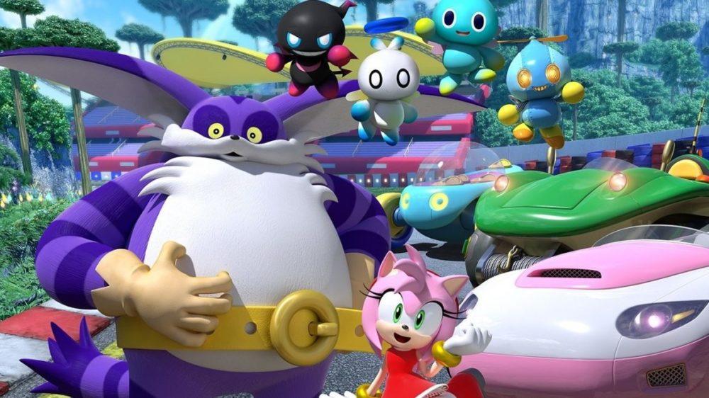 team sonic racing karaktärer