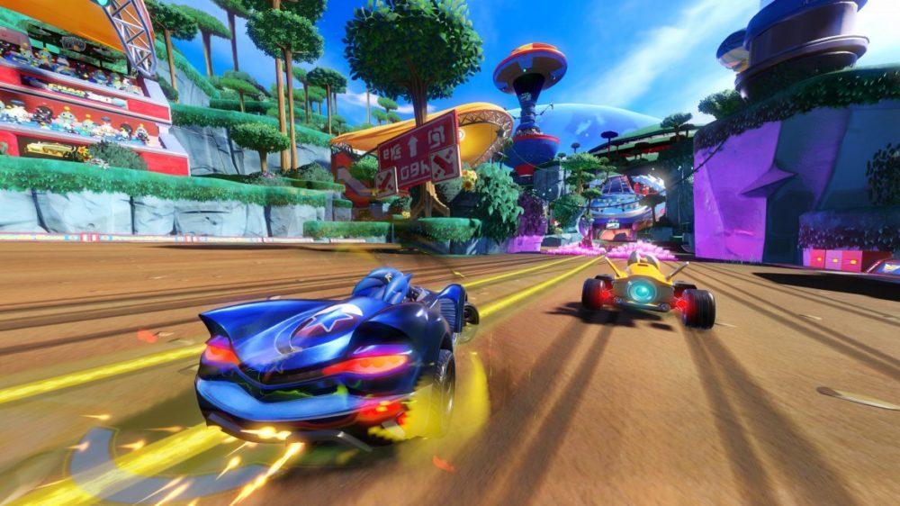 team sonic racing recension